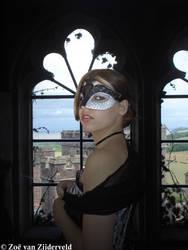 Venetian Girl at the Window by Feia-Aila