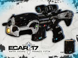 ECAR rifle by RileyDave