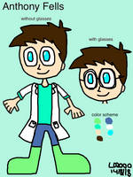 OC: Anthony Fells by Luqmandeviantart2000