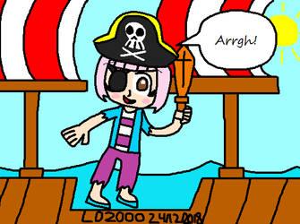 WarioWare: Kat the Pirate by Luqmandeviantart2000