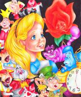 Alice in Wonderland. by darkbeanou