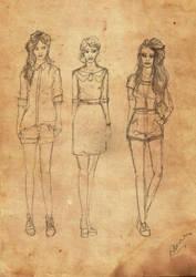 The Black sisters by sputnikova