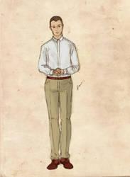 Character sheet: Aaron by sputnikova