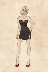 Character sheet: Lauren by sputnikova