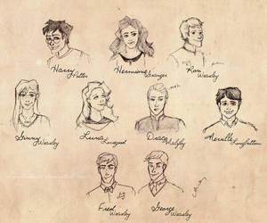 Harry Potter's generation by sputnikova