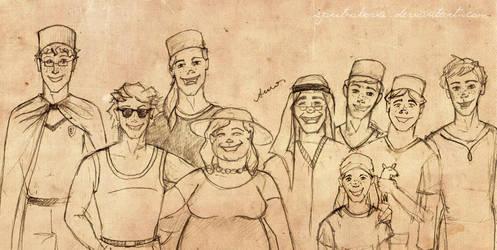 Weasleys! by sputnikova