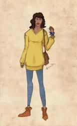 Character sheet: Allison by sputnikova