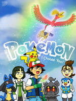 Pokemon 20th Movie Poster (with logo) by GustavoCardozo97