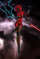 Darth Talon by SimonPenter