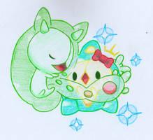 [Pokemon] Hug by Cyronade3