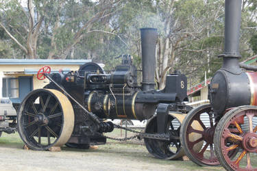 STOCK STEAM TRACTION VINTAGE by scratzilla