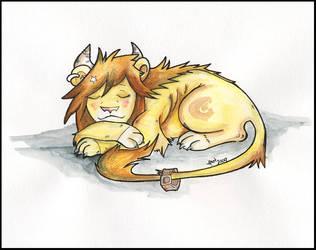 Slumbering druid by Gaara666