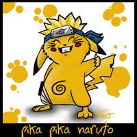 Pikatard Naruto by Gaara666