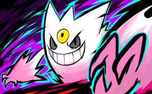 Shiny Mega Gengar   Nightmare by ishmam