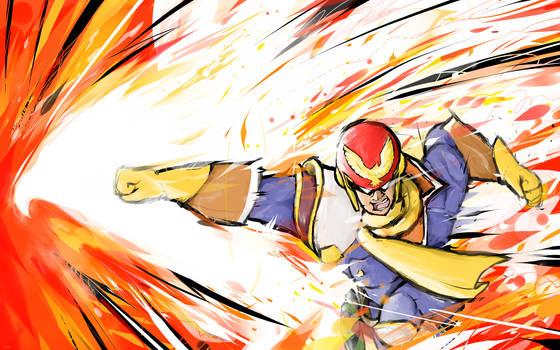 Captain Falcon | Falcon Punch by ishmam