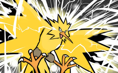 Zapdos | Discharge by ishmam