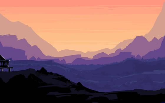 Dawnscape by ishmam