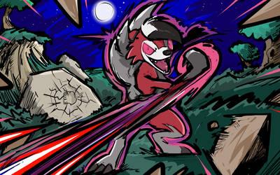 Midnight Lycanroc | Counter by ishmam
