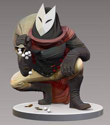 Fox 3D Sculpt by Raxion