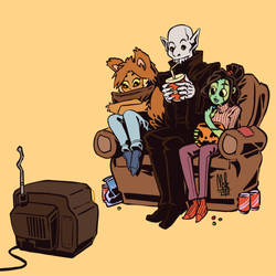 Sweets and Spooks by Lord-Of-The-Guns