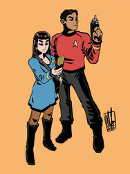 Starfleet Officers by Lord-Of-The-Guns