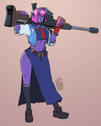 Oni Sniper by Lord-Of-The-Guns