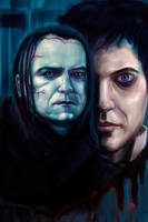 Penny Dreadful : The Creature and Frankenstein by 13nin