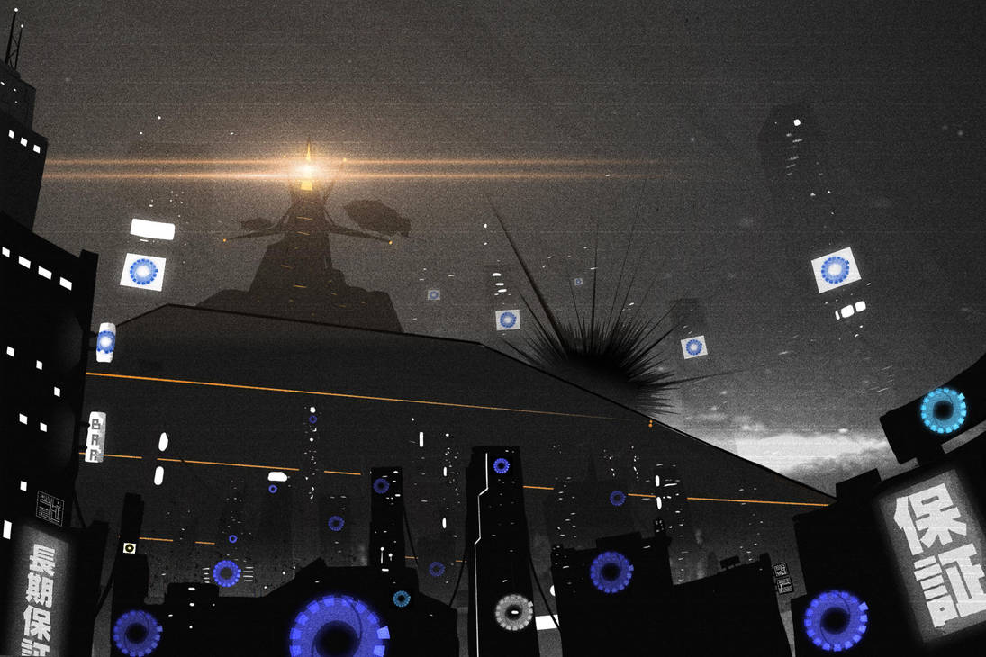 19-1 (The Black Moon rises) by O-KABA