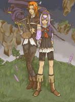 Prishe and Ulmia by SakuyaNagoshi