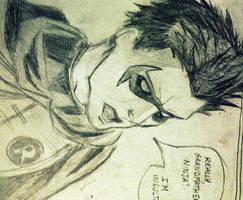 Robin -Damian Wayne by Jeepsterz