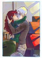 HP_kissing goodbye by mary-dreams