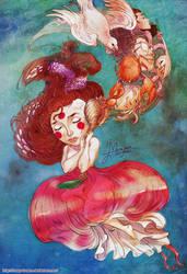 SEASHELL SOUND by mary-dreams