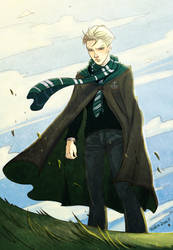 Draco Malfoy by mary-dreams