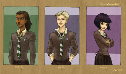 HP Characters_Serie 3 by mary-dreams