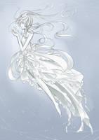 Jellyfish Princess -Sketch- by KhiNaoSang