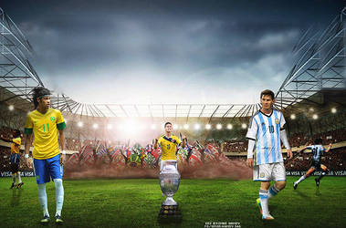 Copa america 2015 by OMARGFX007