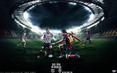 Barcelona Vs Juventus Match Card : V2:http://i.img by OMARGFX007