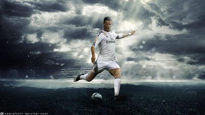 Ronaldo by OMARGFX007