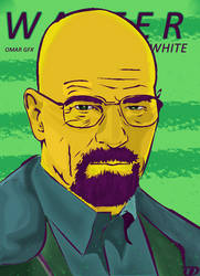 walter white by OMARGFX007