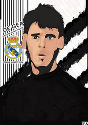DE GEA ( WELCOME TO REAL MADRID) by OMARGFX007