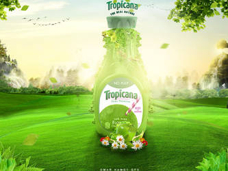 Tropicana frutz poster by OMARGFX007