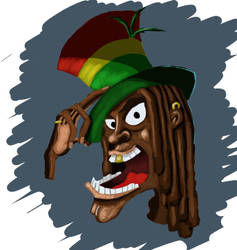 Rasta Man by Haynyd