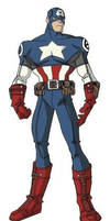 Ultimate Captain America by jayodjick