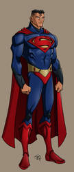 Superman Design by jayodjick