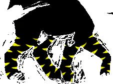 Lupus F Body Yellow Stripe by MyshelKnyte