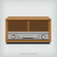 Vintage Radio by nemone
