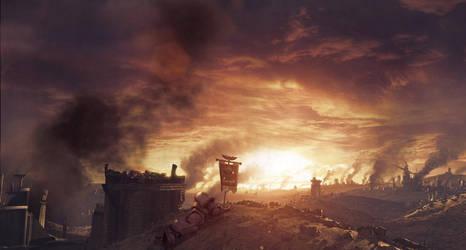 Tartarus at War by cnquistador