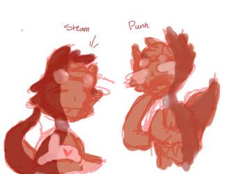 Steam and Punk Fnaf AU by UnicornFace100