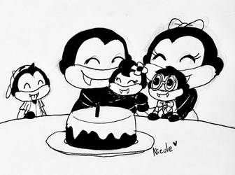 Edgar's Birthday!  by BeansTheCat
