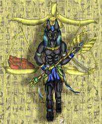 Anubis by SaitirWolf